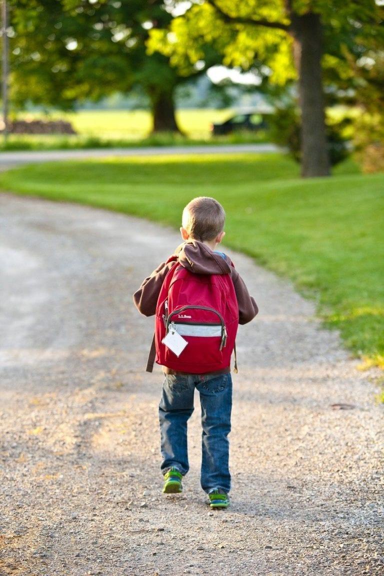 school, backpack, childhood